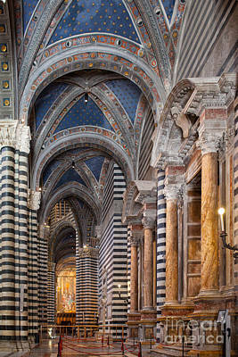 Siena Cathedral Interior Art Print by Ezeepics