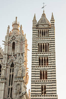 Photograph - Siena Cathedral by John McGraw