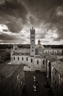 Photograph - Siena Cathedral by Songquan Deng