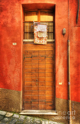 Photograph - Siena Door  by Craig J Satterlee
