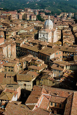 Photograph - Siena From Above by Cliff Wassmann
