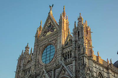 Photograph - Siena Italy Cathedral by John McGraw