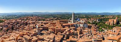 Siena, Italy Panorama Art Print by Michal Bednarek