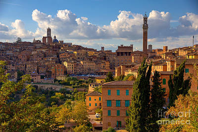 Photograph - Siena by Spencer Baugh