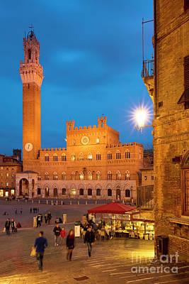 Siena Twilight Art Print