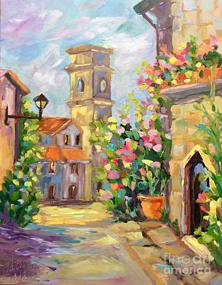 Painting - Siena Walk by Patsy Walton