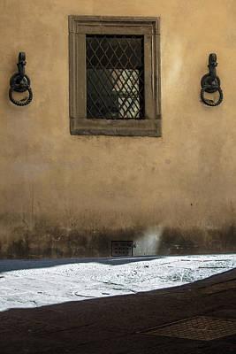 Photograph - Siena Window With Shadow  by John McGraw