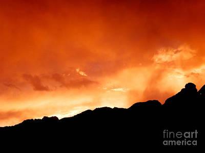 Photograph - Sienna Skyline by L Cecka