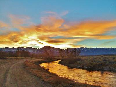 Photograph - Sierra At Sundown by Marilyn Diaz