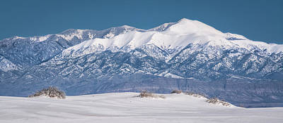 Travel Pics Royalty-Free and Rights-Managed Images - Sierra Blanca by Racheal Christian