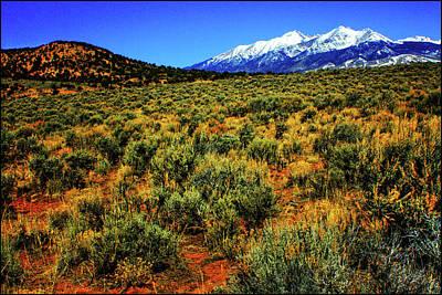 Photograph - Sierra Blanca by Roger Passman