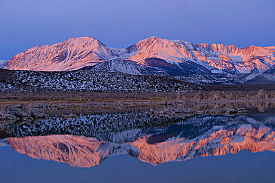 Photograph - Sierra Dawning by Sean Sarsfield