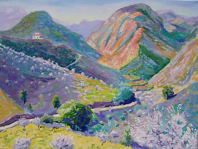 Painting - Sierra De Las Nieves by Pixie Glore