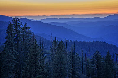 Photograph - Sierra Fire by Rick Berk