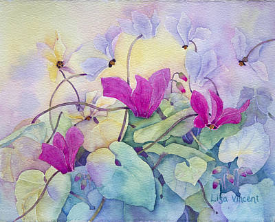 Painting - Sierra Fuchsia by Lisa Vincent