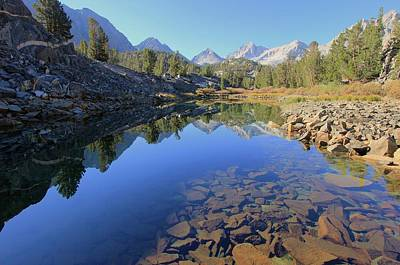 Photograph - Sierra Geology by Sean Sarsfield