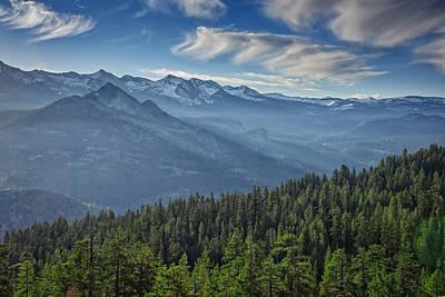 Photograph - Sierra Mist by Rick Berk
