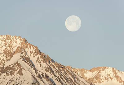 Sierra Moon Art Print by Loree Johnson