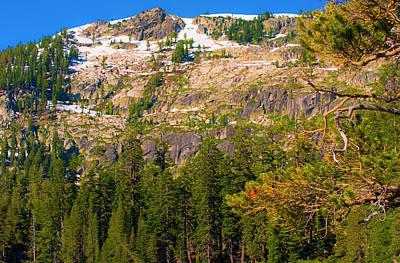 Photograph - Sierra Mountainside I by Steven Ainsworth
