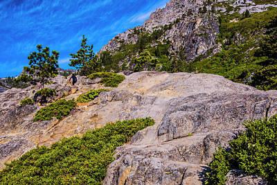 Photograph - Sierra Mountainside II by Steven Ainsworth