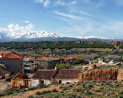 Photograph - Sierra Nevada by Anthony Dezenzio