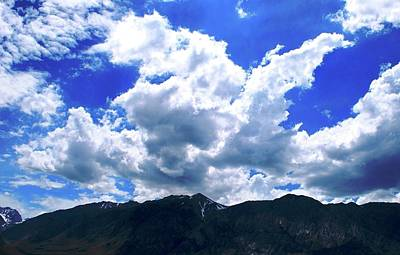 Sierra Nevada Cloudscape Art Print