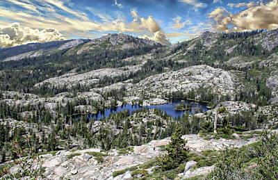Photograph - Sierra Nevada Landscape by Anthony Dezenzio
