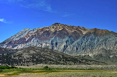 Photograph - Sierra Nevada Mountains-1 by William Kimble