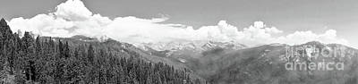 Photograph - Sierra Nevada Mountains In Black And White by Traci Law