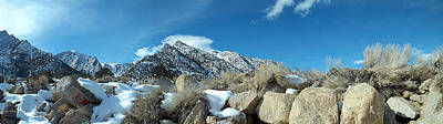 Photograph - Sierra Nevada Mountains - Mount Whitney by Glenn McCarthy Art and Photography