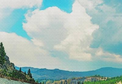 Photograph - Sierra-nevada Skies by Nancy Marie Ricketts