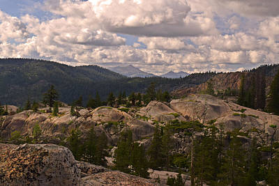 Photograph - Sierra Nevada Views by Frank Wilson