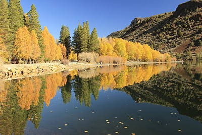 Photograph - Sierra Peak Autumn by Sean Sarsfield