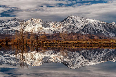 Sierra Reflections 2 Art Print