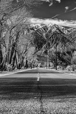 Photograph - Sierra Road by PhotoWorks By Don Hoekwater
