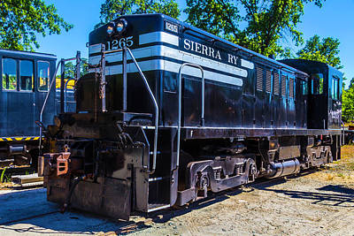 Old West Photograph - Sierra Ry 1265 by Garry Gay