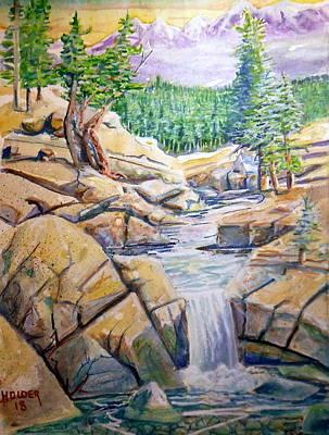 Painting - Sierra Stream by Steven Holder