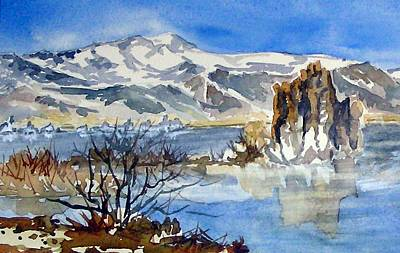 Art Print featuring the painting Sierra View by Pat Crowther