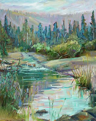 Painting - Sierra Waters by Marie Massey