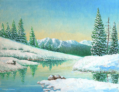 Painting - Sierra Winter by Douglas Castleman