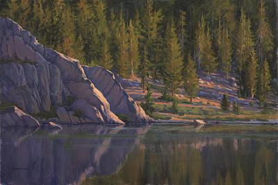 Painting - Sierra's Last Light by Sharon Weaver