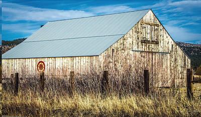 Photograph - Sierraville Barn by Steph Gabler