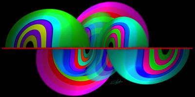 Aftershock Digital Art - Siesmism by Charles Stuart