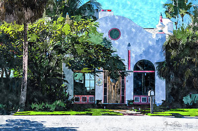 Photograph - Siesta Key Beach Cottage by Susan Molnar