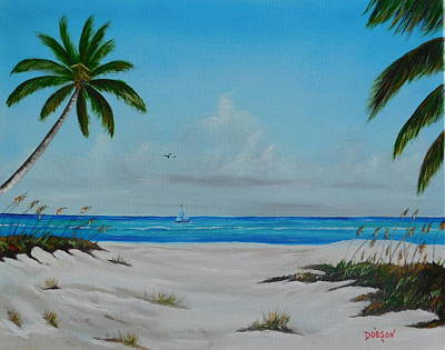 Painting - Siesta Key Beach by Lloyd Dobson