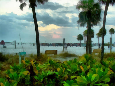 Photograph - Siesta Key Drum Circle by Tawes Dewyngaert