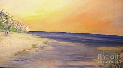 Marine Art Painting - Siesta Key Escape by Jill Morris