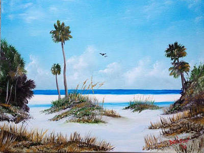 Siesta Key Fun Art Print