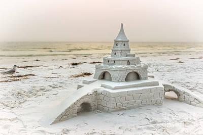 Siesta Key Sandcastle 2 Art Print