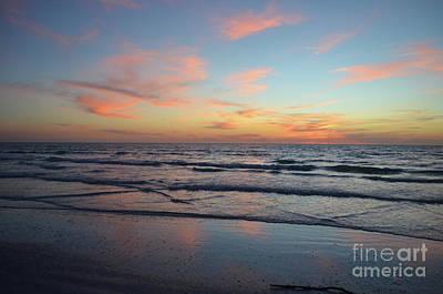 Digital Art - Siesta Key Sunset 2 by Eva Kaufman